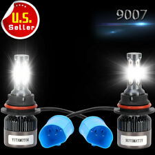 YITA 9007 HB5 200W 20000LM 3 Sides LED Headlight Kit Hi/lo beams HID 6000K Bulbs