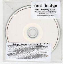 (FV485) Rodrigo y Gabriela, The Soundmaker - 2014 DJ CD
