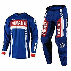 Troy Lee Designs 2020 Motocross Jersey YAMAHA Racing Xtreme Sport and Pant NAVY
