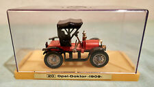 Modellauto,Oldtimer, Opel-Doktor,Baujahr 1909.Metall ,in Plastikbox