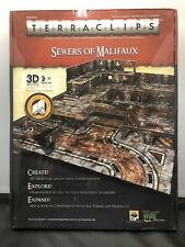 Terraclips Sewers Of Malifaux Connector Combo Pack 3d Terrain - SEALED