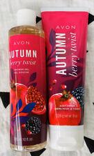 Avon Autum Berry Twist Shower Gel And Body Cream New Moisturizer