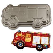 Feuerwehrauto Backform, Feuerwehr Kuchenform, für Feuerwehrkuchen selber backen