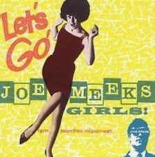 Lets Go Joe Meeks Girls Various Artists 5022911311667 - MINT CD C1