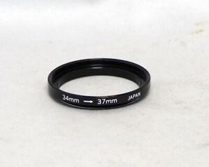 34mm-37mm Adapter ring Step Up Metal Digital Film