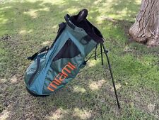 Miami Hurricanes Nike Air Golf Bag With Stand Vintage Rare Ncaa Shoulder Straps