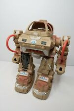 Vintage Battle Bruiser Electronic 1980's 10 Inch Tall Robot Tested & Working