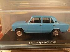 "DIE CAST "" FIAT 124 SPECIAL T - 1970 "" + TECA RIGIDA BOX 2 SCALA 1/43"