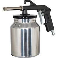 Sandstrahlpistole Saugbecher für Strahlmittel Sandstrahler für Kompressor
