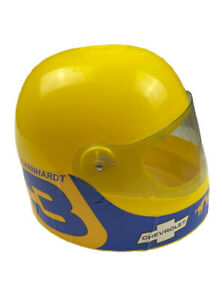 Vintage 80s Dale Earnhardt Blue Bell 1985 Youth Toy Racing Helmet Wrangler Chevy