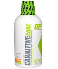 MUSCLEPHARM L-CARNITINE 473ML LIQUID REDUCE BODY FAT VITAMIN B5 CITRUS