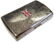 Metal Cigarette Holder Case - Tobacco Smoking Gift #10-028