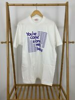 VTG Fatboy Slim 90s You've Come A Long Way Baby Album T-Shirt Size XL RARE
