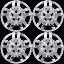 "4 fits Nissan Altima 2002-2012 Chrome 16"" Bolt On Full Wheel Covers Rim Hub Caps"