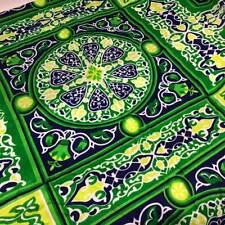 Green Cloth Fabric Material Table cloth قماش شوادر غطاء طاولة