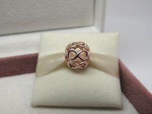 NEW Pandora ROSE Infinite Shine Infinity LOVE Charm #781872 Box Avail Choose