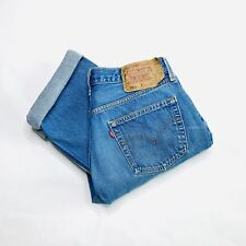Vtg Levi's 501XX Button Fly Jeans, Made in USA, Killer Fade, 35x32 32x28 501 xx