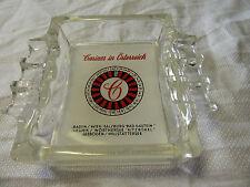 c1960s Vintage AUSTRIAN CASINOS Roulette ASHTRAY - Osterreich - Austria Casino