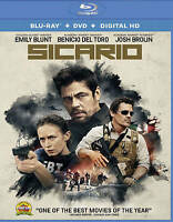 Sicario [Blu-ray + DVD + Digital HD] Blu-ray