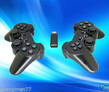 1 pair 2.4G USB Wireless Dual Vibration Gamepad Controller Joystick For PC Lapto