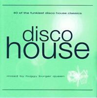 DISCO HOUSE various - mixed by huggy burger queen (2X CD, compilation, 1999)