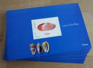2002 Guinea-Bissau; 100 Blocks Muschel, Bl. 379, postfrisch/MNH, ME 650,-
