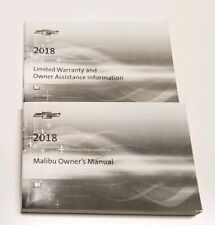 1998 Chevy Chevrolet Malibu Owner's Owners Manual Guide Books 3 ...