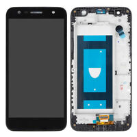 For LG X Charge SP320 X500 M322 L63BL LCD Display Touch Screen Digitizer+Frame