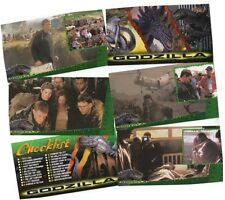 Godzilla Movie Supervue - 72 Card Widevision/Widescreen Basic/Base Set  - 1998