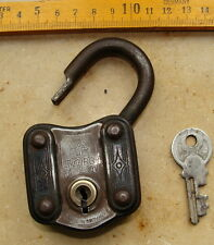 Bügelschloss TOURS 2 mit Schlüssel