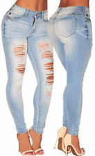 Unbranded Distressed Mid Rise Regular Size Jeans for Women