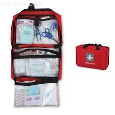 First Aid Kit Fully Stocked 291pcs Medical Bag Trauma Responder Emergency Medic