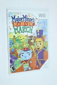 NINTENDO WII ** Major Minor's Majestic March ** NEW FACTORY SEALED