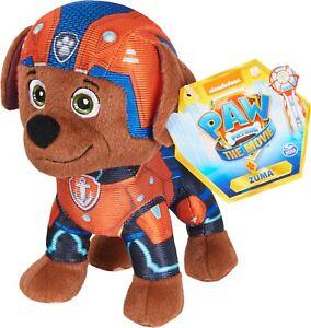 New PAW PATROL Nickelodeon The Movie Plush ZUMA Stuffed Toy USA Seller