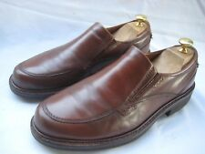 New Listing$179 ECCO MEN'S BROWN LEATHER APRON TOE SLIP ON LOAFERS/SHOES 7-7.5  41