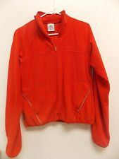 Adidas Fleece Jacket 1/4 Zip Pullover Red  Youth Size Large