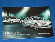 PHOTOS PUBLICITE accessoires ORIGINAL zubehör accessories MERCEDES CLS Klasse