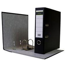 40 x Ordner A4 8cm PP Kunststoff Schwarz Aktenordner Briefordner Breit Büro