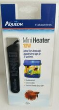 Aqueon Submersible Aquarium Heater 10W Shatterproof Submersible Safety Off New
