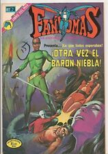 Fantomas #124 1973 Color Mexico Spanish Lang FINE