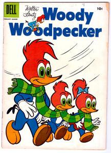 Walter Lantz WOODY WOODPECKER #35 in VG- condition a 1956 DELL comic