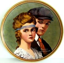 "Norman Rockwell ""Meeting On The Path"" ~ *Limited Edition / Collector Plate*"