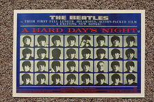 The Beatles Hard Days Night Lobby Card Poster #3