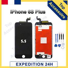 ECRAN IPHONE 6S PLUS NOIR VITRE TACTILE + LCD RETINA SUR CHASSIS + OUTILS