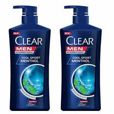 630 ml x 2 Clear Men Anti-Dandruff 630ml Shampoo Sport Cool All Hair Types