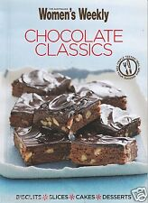 Chocolate Classics by Aust Women's Weekly  Mini Cookbook Biscuits Slices Cakes