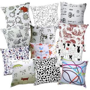 Pillow Cover*Off White Cotton Canvas Seat Pad Cushion Case Custom Size*AL3