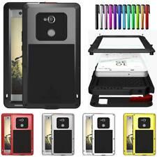 LOVE MEI Top Metal Glass Case Cover For Sony Xperia XA XA1 XA2 Ultra XZ XZ1 XZ2