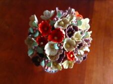 Vtg Millinery Flowers Forget Me Not Earth Tone Mix for Doll Hat Ginny Et