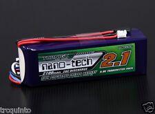 Bateria LifePo4 tipo Life 9,9v 2100mA 20C conector futaba y JR, batería emisoras